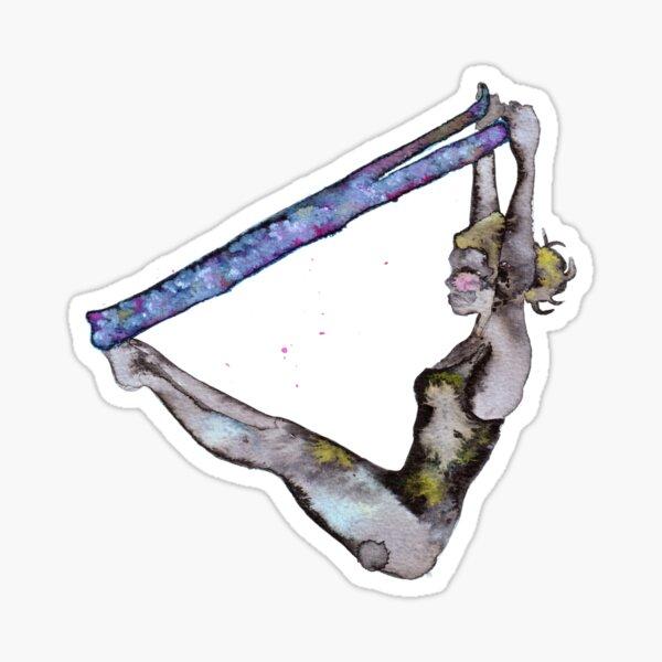 Pilates is my love Sticker