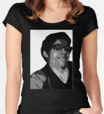 The Recliner Cast Logan! Women's Fitted Scoop T-Shirt