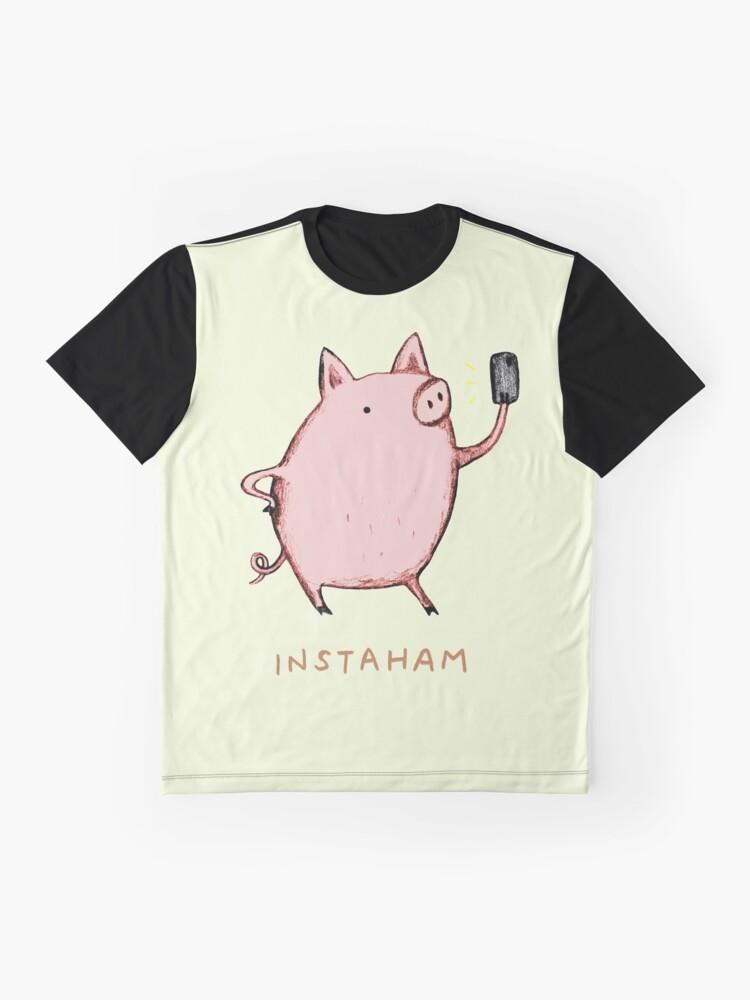 Alternate view of Instaham Graphic T-Shirt
