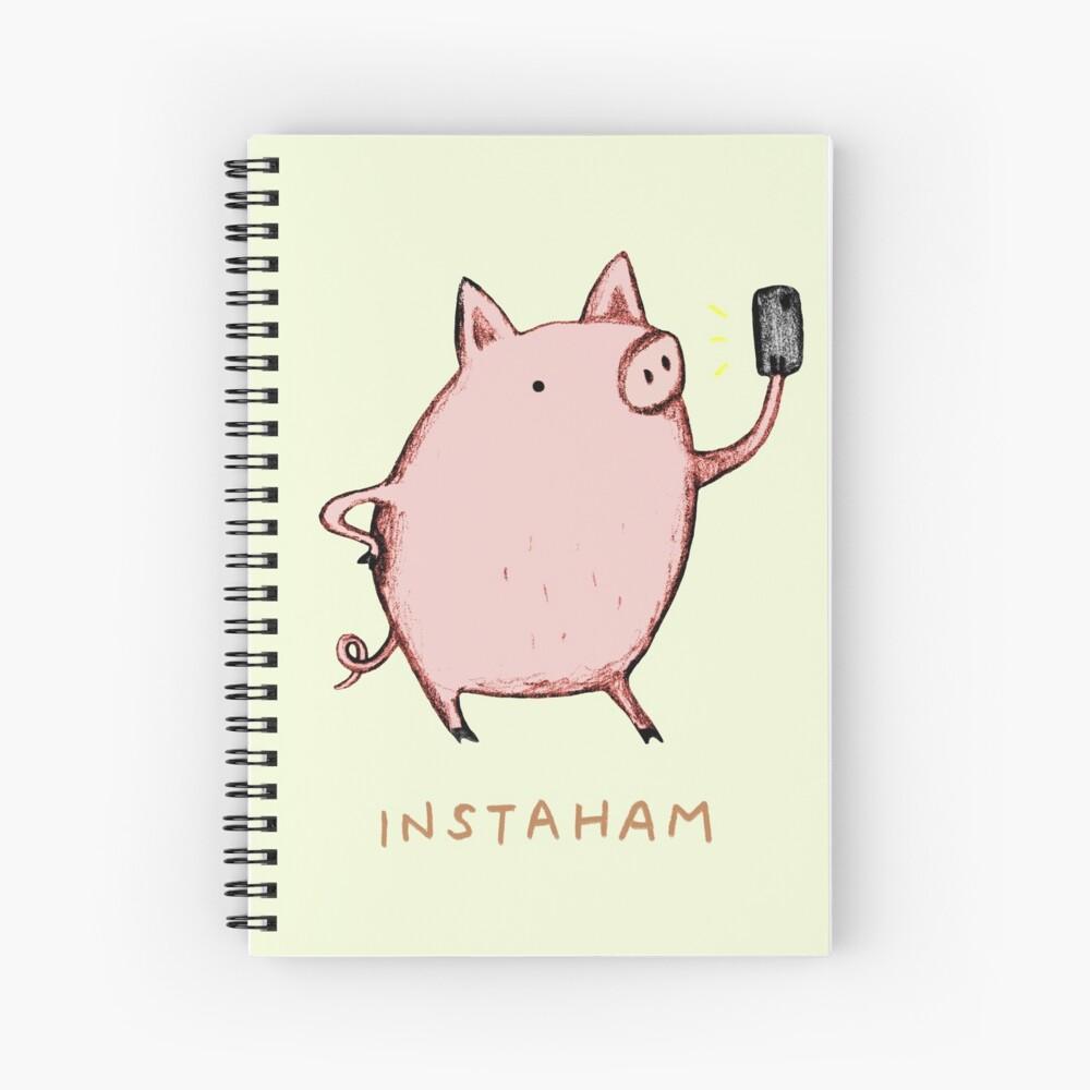 Instaham Spiral Notebook