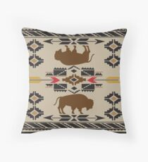American Native Pattern No. 5 Throw Pillow