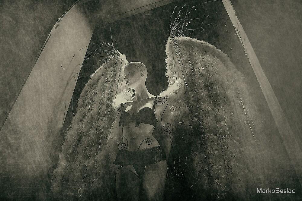 Angelus ad virginem II by MarkoBeslac