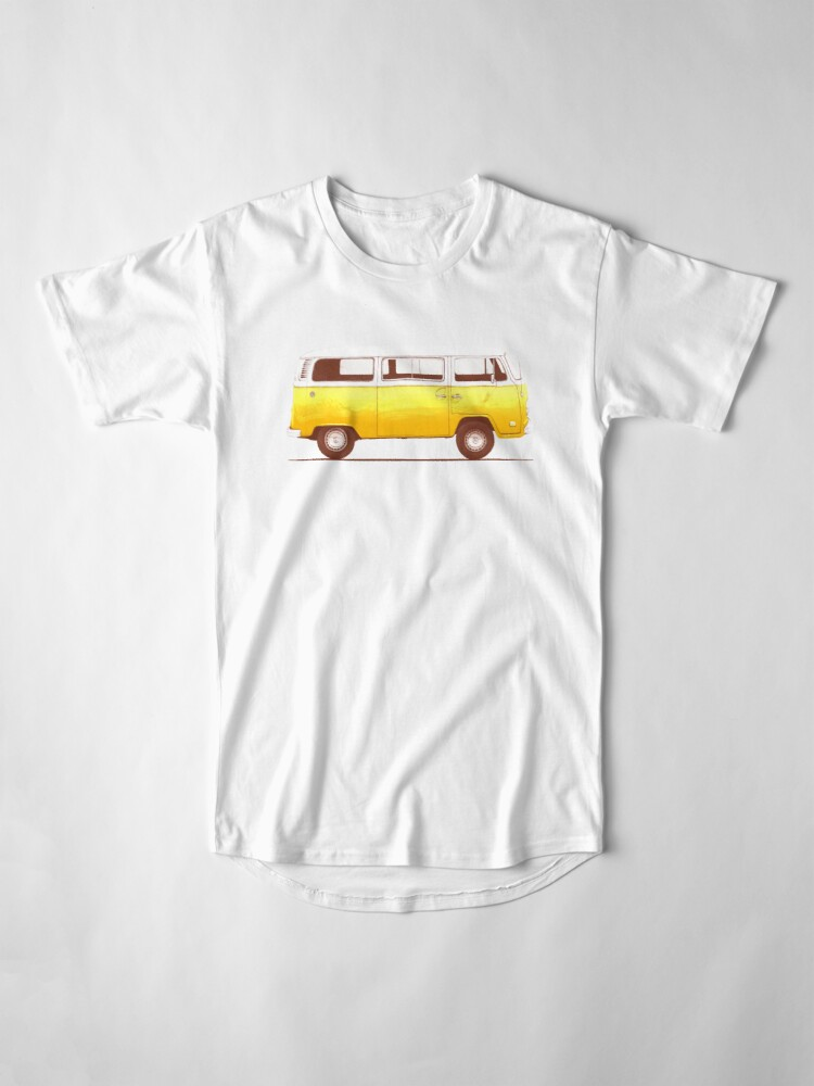 Alternate view of Yellow Van Long T-Shirt