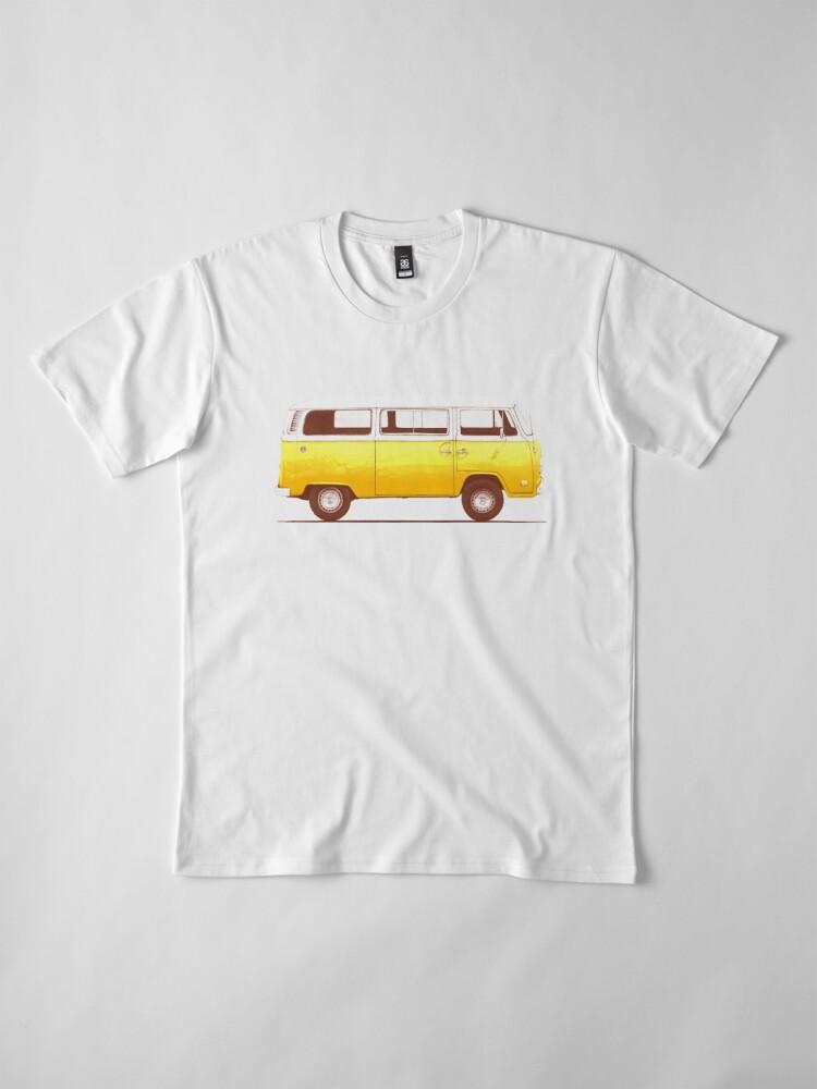 Alternate view of Yellow Van Premium T-Shirt