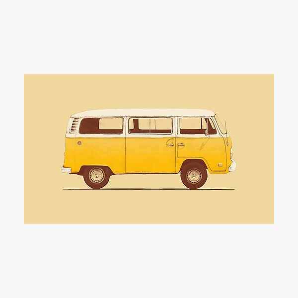 Yellow Van Photographic Print