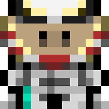 Hamboy Pixel Art by FelixR1991