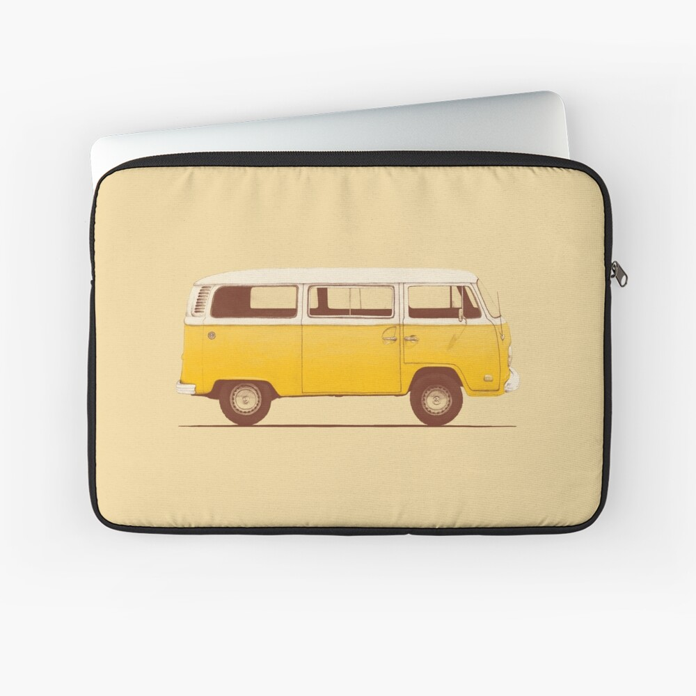 Yellow Van Laptop Sleeve