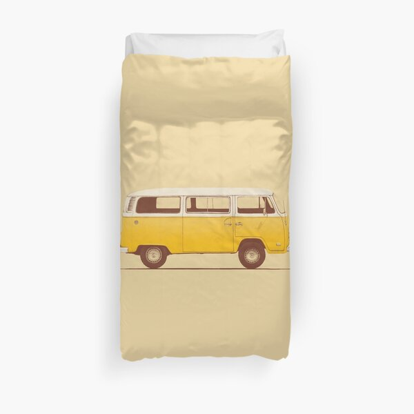 Yellow Van Duvet Cover