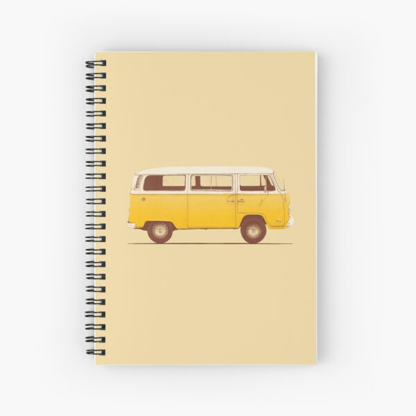 Yellow Van Spiral Notebook