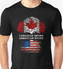 Canadian Grown American Roots T-Shirt