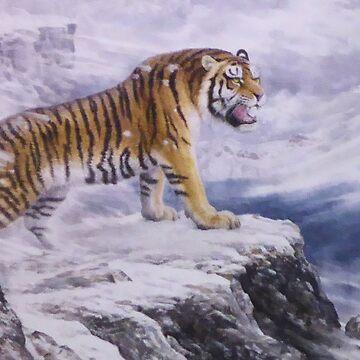 Siberian Tiger by radpidgeons
