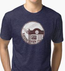 Saving Lives Tri-blend T-Shirt
