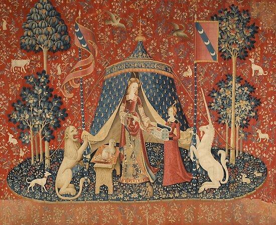 Die Dame und das Einhorn: À Mon Seul Désir von hostilepopcorn