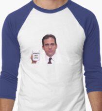 World's Best Little Baseball ¾ Sleeve T-Shirt