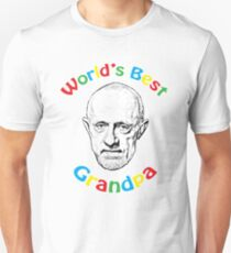 Pop Art - World's Best Grandpa T-Shirt