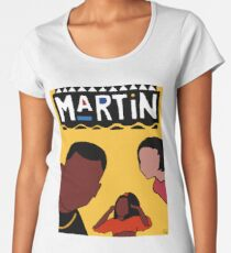 Martin (Yellow) Women's Premium T-Shirt
