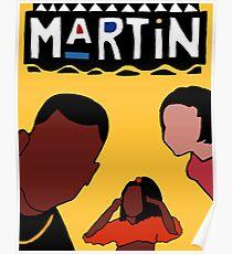 Martin (Yellow) Poster