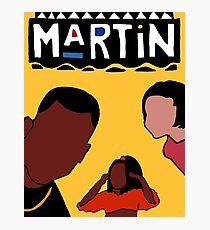 Martin (Yellow) Photographic Print