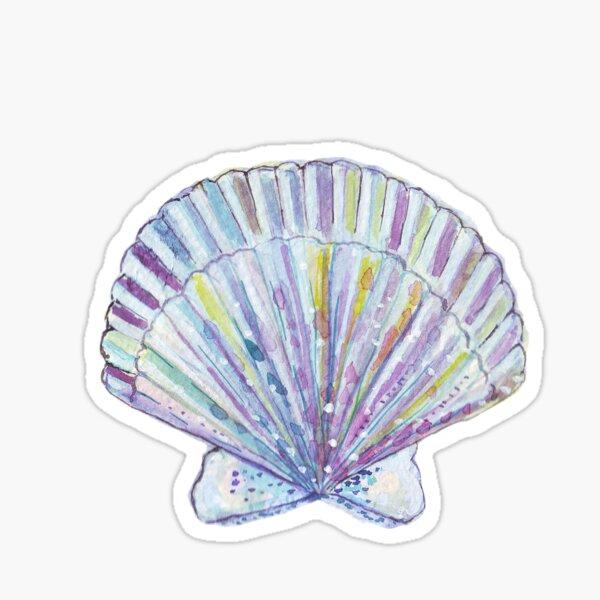 coquillage Sticker