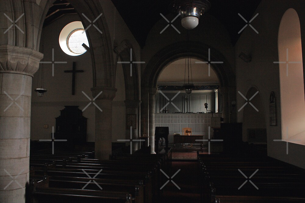 Abercorn Church Interior by Tom Gomez