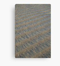 Beach Ridges Canvas Print