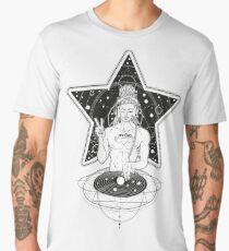 Intergalactic DJ Buddha - Super Star. Men's Premium T-Shirt