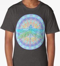 Art Nouveau Dragonfly Long T-Shirt