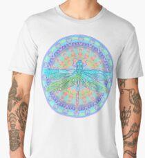 Art Nouveau Dragonfly Men's Premium T-Shirt