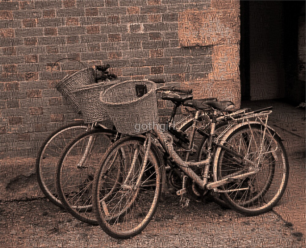Bikes by gothgirl