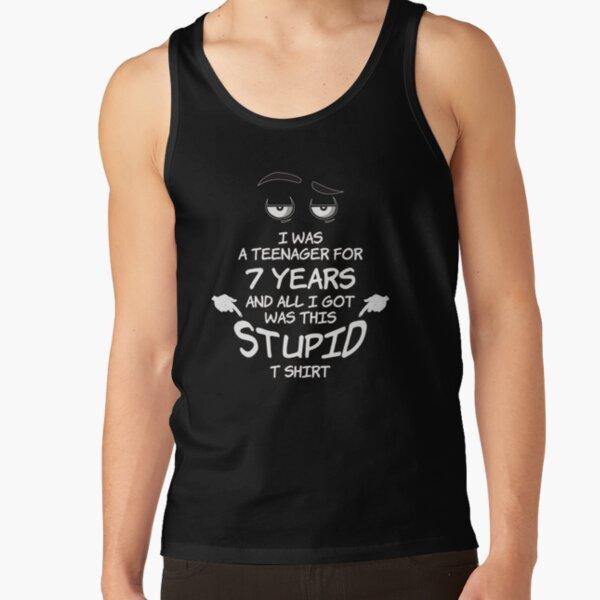 Anti You Grumpy Moody Old Man Teenager Womens Vest Tank Top