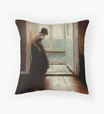 On the Doorstep Throw Pillow