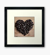 Caffeinated Love Framed Print