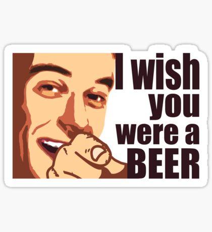 Beer t-shirt Sticker