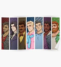 Dream Daddy: A Dad Dating Simulator Poster