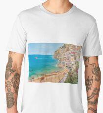 Vista su Positano Men's Premium T-Shirt