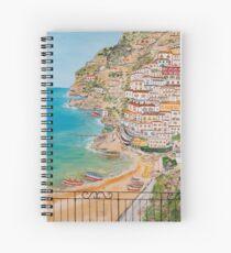 Cuaderno de espiral Vista su Positano