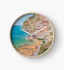 Vista su Positano Clock