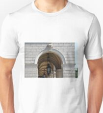 Beautiful classical portico in Vienna  T-Shirt