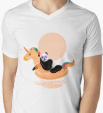 Chillin, Unicorn Panda T-Shirt