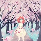 Cherry Blossom Girl by leahkatewrite