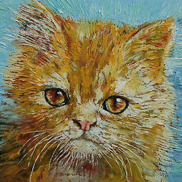 Van Gogh the Kitten by michaelcreese