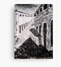 Mystery and Melancholy of a Street Canvas Print
