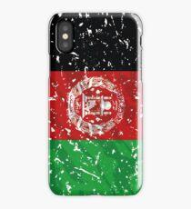 Afghanistan Grunge Vintage Flag iPhone Case/Skin