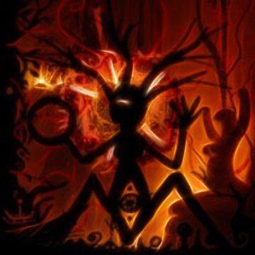 Shaman ritual by LuciaS
