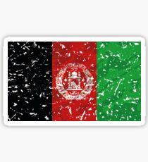 Afghanistan Grunge Vintage Flag Sticker