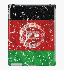Afghanistan grunge vintage flag iPad Case/Skin