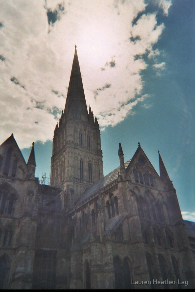 Salisbury Cathedral by Lauren Heather Lay