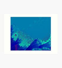 Weather 4: Big Storm over the Sea Art Print