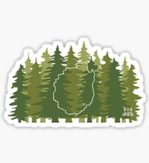 ADK Trees - Off The Grid Sticker