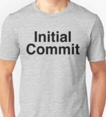 Initial Commit T-Shirt